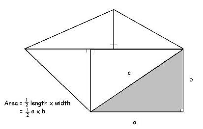 áreas con triángulos