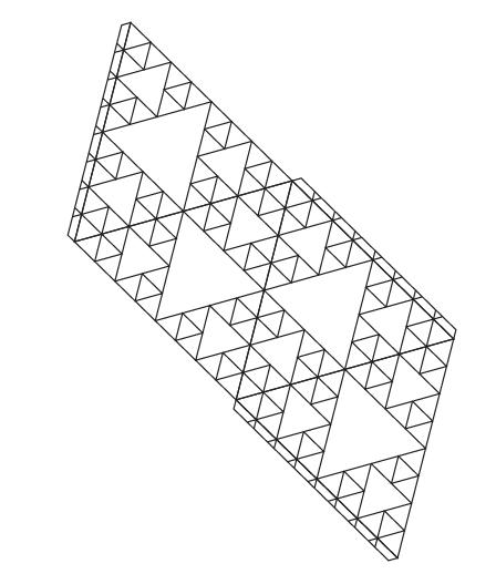 desarrollo de tetraedro