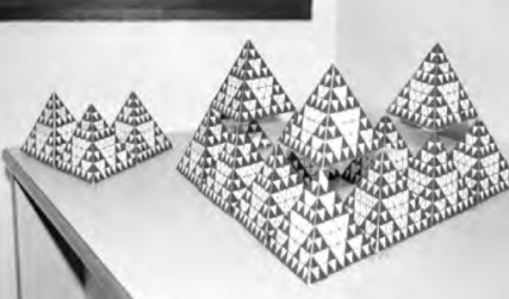 tetraedros de sierpinski